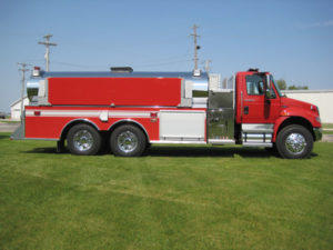Dominator Fire Apparatus Series Side