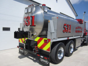 Commander Fire Apparatus Series Back
