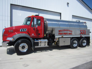 Commander Fire Apparatus Series Side