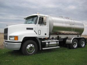 Agricultural Fertilizer Trucks Side