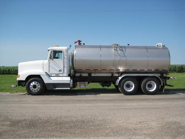 Water Truck Side