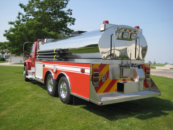 Dominator Fire Apparatus Series Back