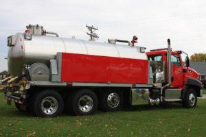 Fusion Vacuum Tanker Side