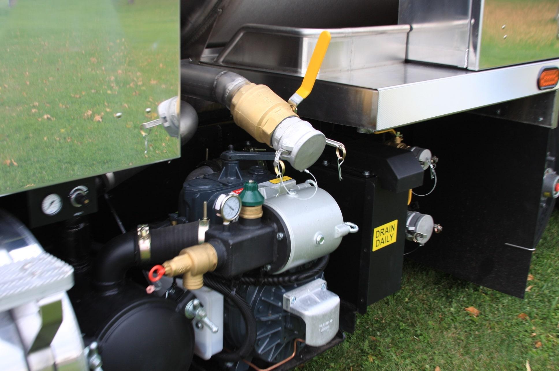 Fusion Vacuum Tanker Valves