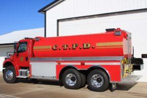 Cleveland Township Fire Department fire tank truck