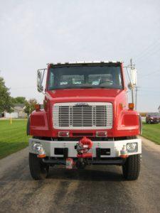 clinton township vfd tank truck