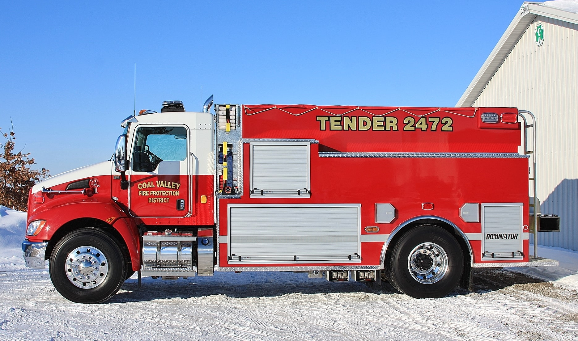 Coal Valley fire apparatus fire tanker