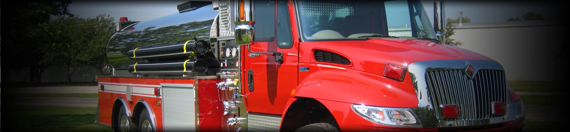 Dominator Fire Apparatus Series Banner