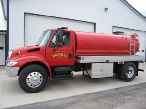 2003 international 5500 tandem axle