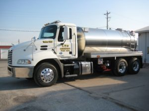 lee fire protection dist tank truck
