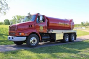 SW Pickaway Fire Dist. fire tank truck