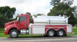 Augusta Township VFD tank truck