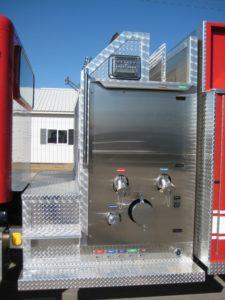 plum coulee fire department tank truck