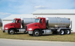 Norris Asphalt/Douds tank truck