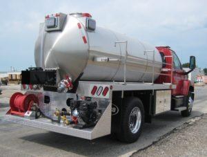 adrian fire dept. tank truck