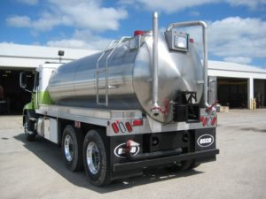 west valley vfd tank truck