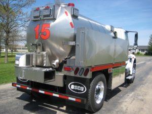 Maroa Countryside FPD fire tank truck
