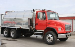 town of stephenson vfd tank truck