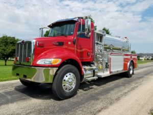 Beaver Firefighters association tank truck