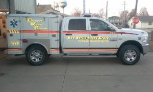 New Berlin emergency vehicle