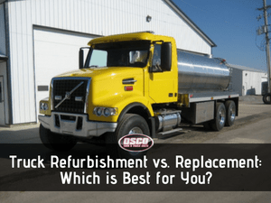Truck Refurbishment vs. Replacement: Which is Best for You?