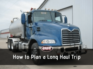 How to Plan a Long Haul Trip