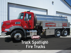 Truck Spotlight: Fire Trucks
