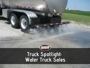 water truck sales