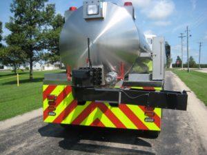 westminster fire department tank truck