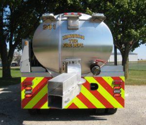 Hiawatha Township VFD fire tank truck