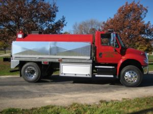 platte center fire department fire tank truck