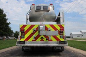 Beaver Firefighters association tank truck