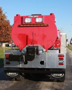 Rainbow Lakes Estates VFD fire tank truck