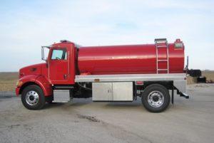 Pipestone Fire Dept. Rural Assoc. fire tank truck