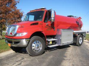 platte center fire department fire tank truck
