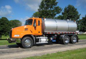 Shelly & Sands, Inc. tank truck