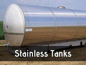 stainless tanks
