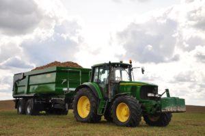 farm equipment share the roads
