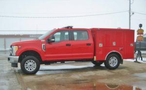 responder fire tanker truck