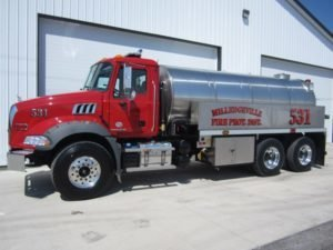 commander fire tanker truck muscle pain