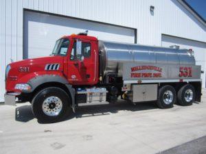 commander fire tanker truck