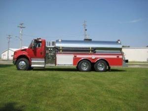 dominator fire tanker truck
