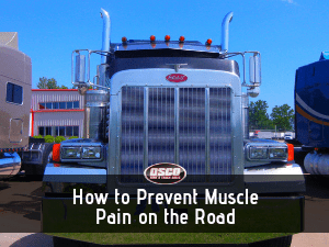 muscle pain on the road