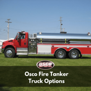 osco fire tanker truck options