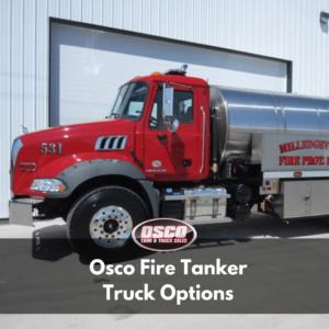 osco fire tanker truck options