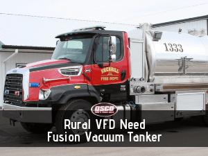 fusion vacuum tanker