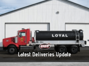 latest deliveries update