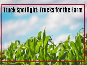 trucks for the farm