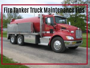 Fire Tanker Truck Maintenance