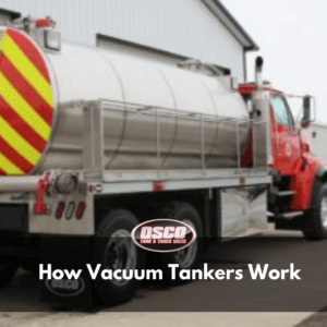 how vacuum tanker trucks work